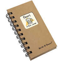 "Journals Unlimited ""Write It Down!"" Mini-Size Beer Journal"