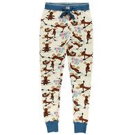 Lazy One Women's Na'moose Stay Legging Pajama Pant