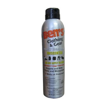 Ben's Clothing & Gear Repellent Spray - 6 oz.