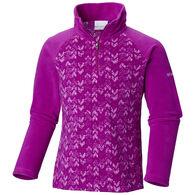 Columbia Girls' Glacier II Fleece Print Half-Zip Pullover