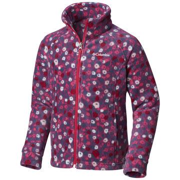 Columbia Girls Benton Springs II Printed Fleece Jacket