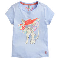 Joules Girl's Pixie Jersey Screenprint Short-Sleeve T-Shirt