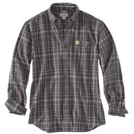 Carhartt Men's Trumbull Plaid Flannel Long-Sleeve Shirt