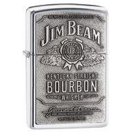 Zippo Jim Beam High Polish Chrome Windproof Lighter