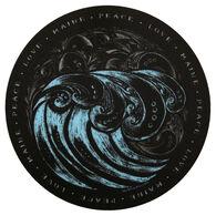 Blue 84 Yingy Wave Maine Sticker