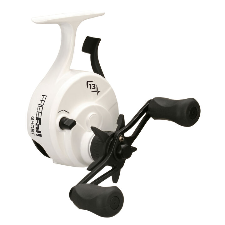 13 fishing freefall ghost ice fishing reel kittery for 13 fishing ice reel