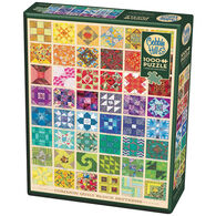 Outset Media Jigsaw Puzzle - Common Quilt Blocks