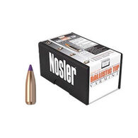 "Nosler Ballistic Tip Varmint 6mm 70 Grain .243"" Spitzer Point / Purple Tip Rifle Bullet (100)"