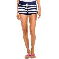 Southern Tide Women's Jodie French Terry Stripe Short