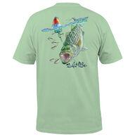 Salt Life Men's Buoy Striper Pocket Short-Sleeve T-Shirt