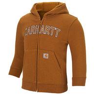 Carhartt Boys' Logo Fleece Zip Hooded Sweatshirt