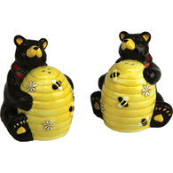 Rivers Edge Bears & Bees Salt & Pepper Shaker Set, 2-Piece