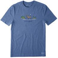 Life is Good Men's Majestic Moose Vintage Crusher Short-Sleeve T-Shirt