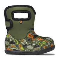 Bogs Boys' Baby Bogs Construction Rain Boot