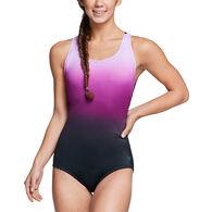 Speedo Women's Ombre Ultraback One-Piece Swimsuit