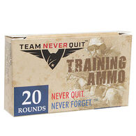 Team Never Quit 223 Cal. 45 Grain Frangible Training Rifle Ammunition (20)