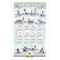 Kay Dee Designs 2021 Lighthouses Calendar Towel