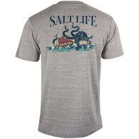 Salt Life Men's No Worries Tri-Blend Short-Sleeve T-Shirt