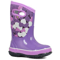 Bogs Girls' Classic Hearts Waterproof Insulated Winter Boot