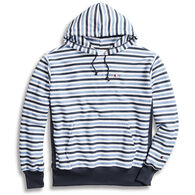 Champion Men's Reverse Weave Pullover Stripe Hoodie