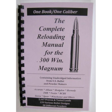 Loadbooks USA The Complete Reloading Manual for the .300 Weatherby Magnum