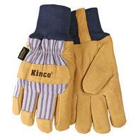 Kinco Men's Lined Grain Pigskin Glove
