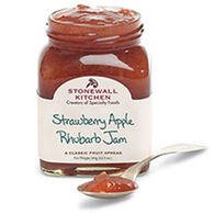 Stonewall Kitchen Strawberry Apple Rhubarb Jam, 12.5 oz.