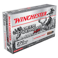 Winchester Deer Season XP 270 Winchester 130 Grain Extreme Point Rifle Ammo (20)