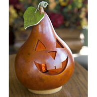 Meadowbrooke Gourds Small Lit Traditional Jack Gourd