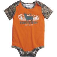 Carhartt Infant Boy's Born To Hunt Short-Sleeve Bodyshirt