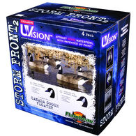 Flambeau Storm Front 2 Floater Canada Goose Decoys - 4 Pack