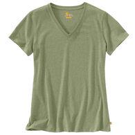 Carhartt Women's Lockhart V-Neck Short-Sleeve T-Shirt
