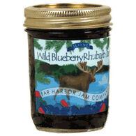 Bar Harbor Jam Company Blueberry Rhubarb Jam with Moose Label