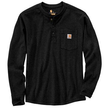 Carhartt Mens Relaxed Fit Heavyweight Henley Pocket Thermal Long-Sleeve T-Shirt