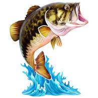 Next Innovations Jumping Bass Metal Wall Art
