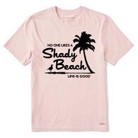 Life is Good Men's Shady Beach Crusher-Lite Short-Sleeve T-Shirt