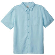 O'Neill Men's Jack O'Neill Bamboo Brush Button-Down Short-Sleeve Shirt