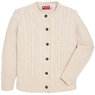 Binghamton Knitting Women's Cable Cardigan Sweater