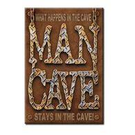 Desperate Enterprises Man Cave Ice Box Magnet