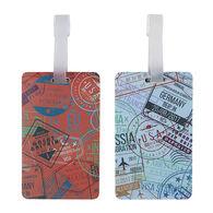 Travelon Passport Stamps Luggage Tag - 2 Pk.