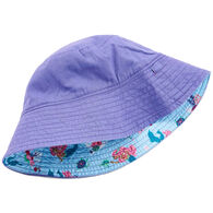 Hatley Girl's Mermaid Tales Reversible Sun Hat