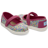 TOMS Toddler Girl's Tiny Mary Jane Shoe