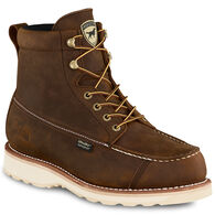 "Irish Setter Men's 6"" Wingshooter Safety Toe Waterproof Leather Work Boot - Defined Heel"