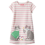 Joules Girl's Kaye Applique Dress