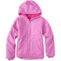 Carhartt Girls' Redwood Sherpa-Lined Jacket