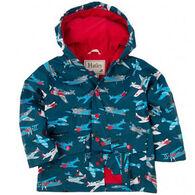 Hatley Boys' Fighter Planes Raincoat