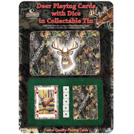 Rivers Edge Mossy Oak Deer Cards & Dice