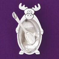 Basic Spirit Moose Salt Cellar With Spoon