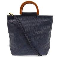 Joy Susan Women's Lily Wood Handle Tote Bag