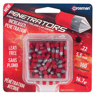 Crosman Red Flight Penetrator 22 Cal. 16.7 Grain Lead-Free Air Gun Pellet (100)